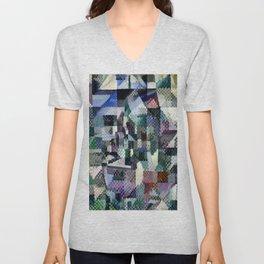 "Robert Delaunay ""Windows on the City No. 3"" Unisex V-Neck"