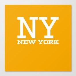 NY New York City Canvas Print