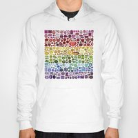 gem Hoodies featuring Gem Collection by Alisa Galitsyna