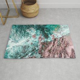 Lagos, Algarve, Portugal. Landscape Print, Aerial Photography, Beach Print, Drone Photography, Ocean Rug