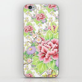 Kimono Summer Bouquet iPhone Skin