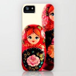 Babushka Russian Doll iPhone Case