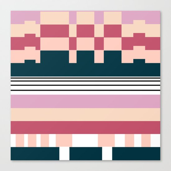 Raspberry Parfait Canvas Print