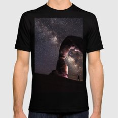 Watching stars X-LARGE Black Mens Fitted Tee