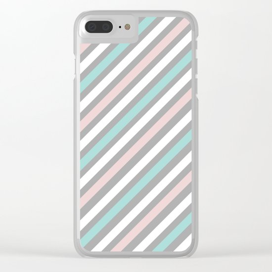 INFINITE LINES (abstract pattern) Clear iPhone Case