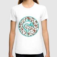 maori T-shirts featuring Maori Dolphin by freebornline