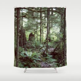 Vancouver Island Rainforest Shower Curtain