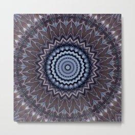 New Color Pyramidal Mandala 25 Metal Print