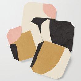 Abstract Shapes 34 Coaster