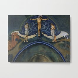 "Edward Burne-Jones ""The Tree of Life"" Metal Print"
