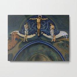 "Edward Burne-Jones ""The Tree of Life"" Metal Print"