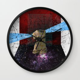 Wonder Wood Dream Mountains - The Demon Cleaner Series · Some Heads Are Gonna Roll Wall Clock
