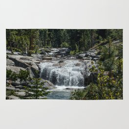 California Forest Waterfall Rug