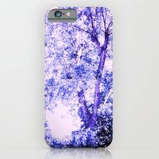 Blue trees Slim Case iPhone 6s