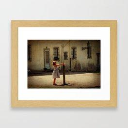 Boboli Bubbler Framed Art Print