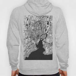 New Haven Map Gray Hoody