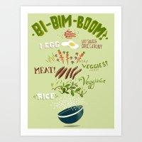 bi-bim-boom Art Print