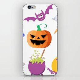Halloween Icons iPhone Skin