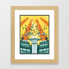 Planet Scintilla Framed Art Print
