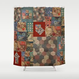Primitive Treasure Shower Curtain