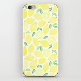 Summer Lemons iPhone Skin