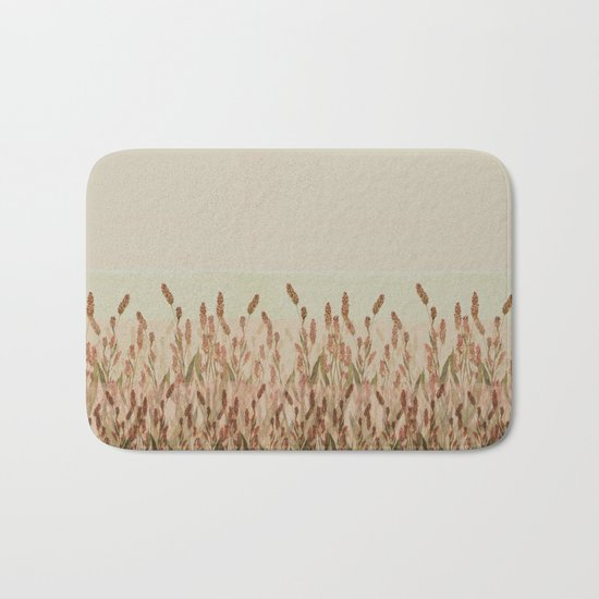 vegetal motif Bath Mat