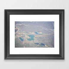 GEOgraphy VII Framed Art Print