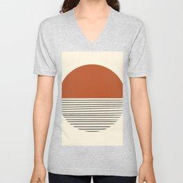 Modern Sun Rustic Balance Unisex V-Neck
