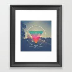Seek Them Like Hidden Treasure - Proverbs 2:4 Framed Art Print