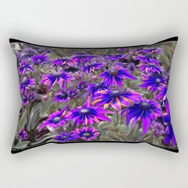 A Rainbow of Daisies Fine Art Poster and Cards Rectangular Pillow
