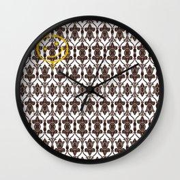 SHERLOCK HOLMES WALLPAPER Wall Clock