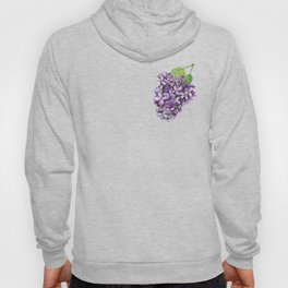 Watercolour Lilac Bloom Hoody
