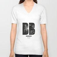big bang V-neck T-shirts featuring BIG BANG by Amanda Mocci