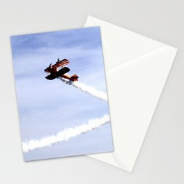 Wing Walkers 1 Stationery Cards
