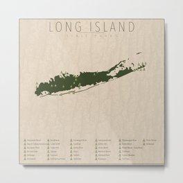 Long Island Parks Metal Print