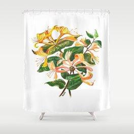 Honeysuckle Bouquet Shower Curtain