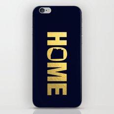 Arizona home state faux gold foil print iPhone & iPod Skin