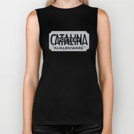 Catalina Avalonware - Grey Biker Tank