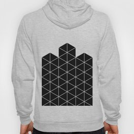 Black And White Stack Hoody