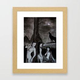 Lamiae Framed Art Print