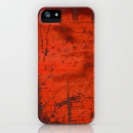 Red Roof Hatch iPhone Case
