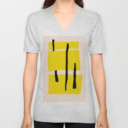 Yellow dream Unisex V-Neck