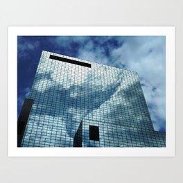 The NN-Building (Rotterdam) 7 Art Print