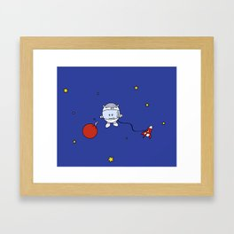 Cosmo Gnoow Framed Art Print