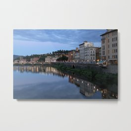 From a Bridge in Florence Italy Metal Print