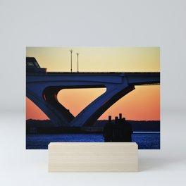 Connect the States Mini Art Print