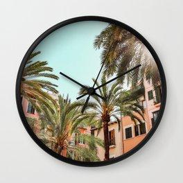 Spanish Village Wall Clock
