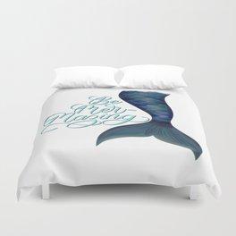 Be Mer-Mazing Mermaid Tail Duvet Cover