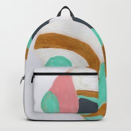Multicolored Rock Backpack
