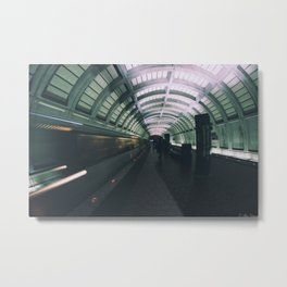 Morning Commute Metal Print